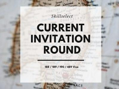 EOI #Invitation Round #189 Visa #489 Visa #Skillselect